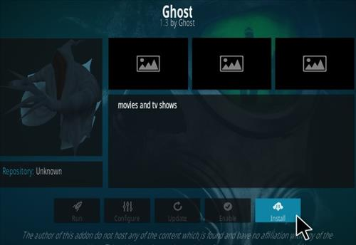 How To Install Ghost Kodi Addon V 2.0 step 18