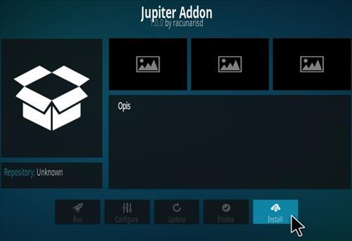 How To Install Jupiter Kodi Addon Step 18