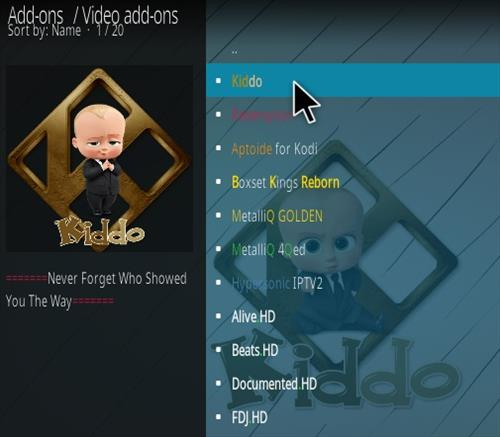How To Install Kiddo Kodi Addon Step 17