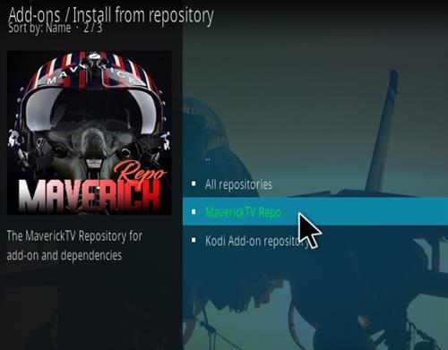 How To Install Maverick 18 Kodi Leia Build Step 15