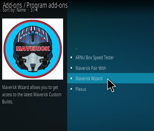 How To Install Maverick 18 Kodi Leia Build Step 17