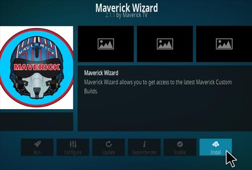 How To Install Maverick 18 Kodi Leia Build Step 18