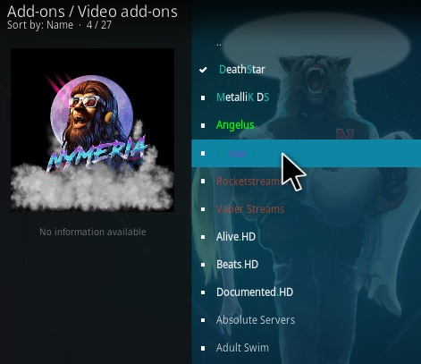 How To Install Nymeria Kodi Addon Step 17
