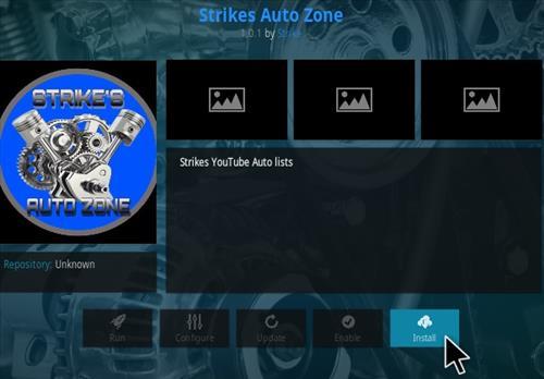 How To Install Strikes Auto Zone Kodi Addon Step 18
