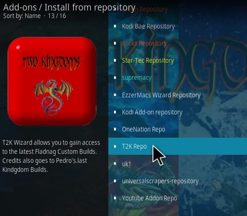 How To Install T2K 1-Click Movie Kodi Addon Step 15
