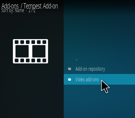 How To Install Tempest Kodi Addon Step 16