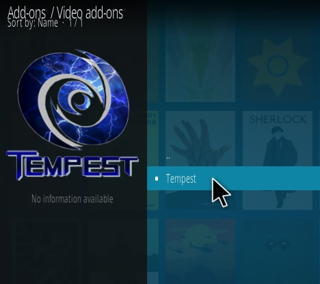 How To Install Tempest Kodi Addon Step 17