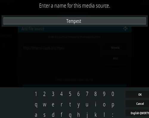 How To Install Tempest Kodi Addon Step 6