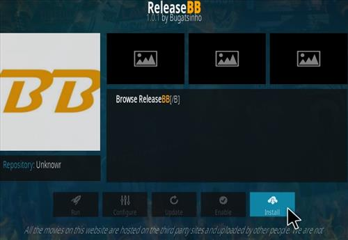 How to Install ReleaseBB Kodi Addon Step 18