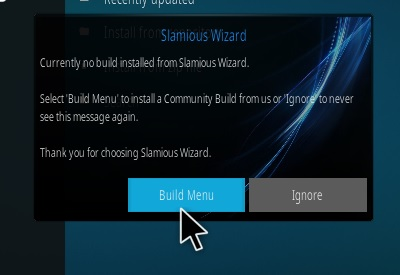 How to Install Slamious 17 Kodi Build Step 16