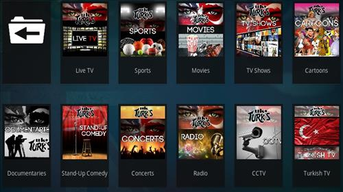 How to Install UK Turk's Playlists Kodi Addon V 108 Overview