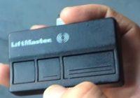 Replace Garage Door Remote Control