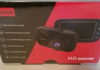 Review Audew D102 Car HD Dash Cam