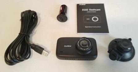 Review Audew D102 Car HD Dash Cam ALL