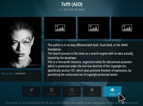How To Install 7of9 (AIO) Kodi Addon