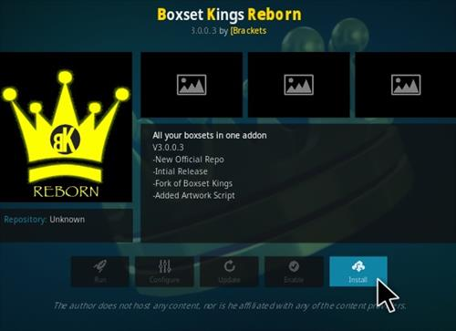 How To Install Boxset Kings Reborn Kodi Addon New V5.7 Step 18