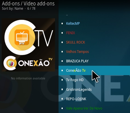 How To Install Conexao Kodi Addon Step 17