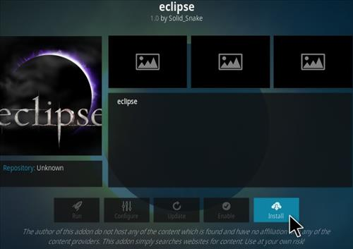 How To Install Eclipse Kodi Addon Step 18