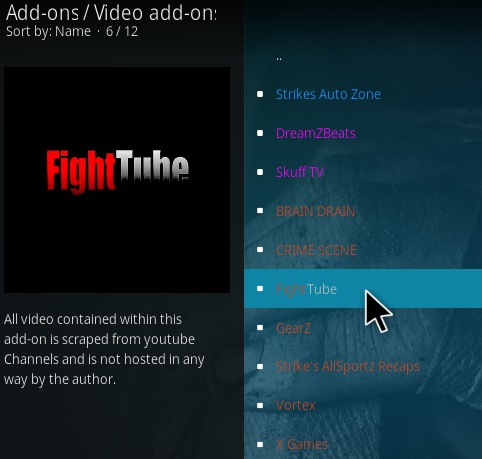 How To Install Fight Tube Kodi Addon Step 17