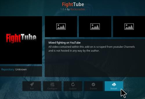 How To Install Fight Tube Kodi Addon Step 18