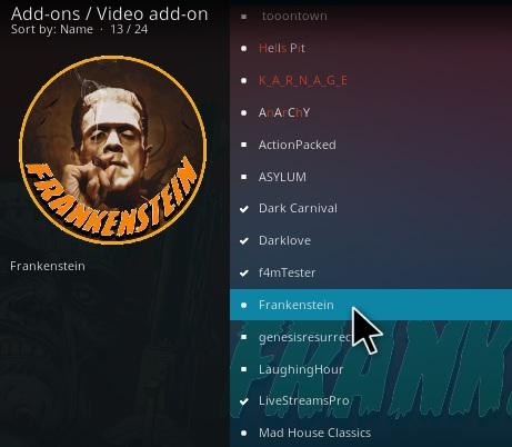How To Install Frankenstein Kodi Addon Step 22