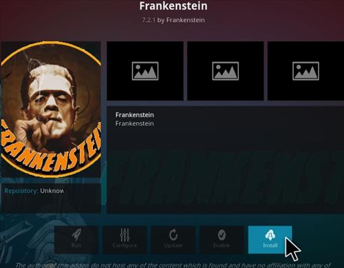 How To Install Frankenstein Kodi Addon Step 23