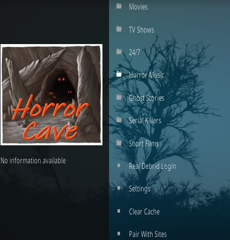How To Install Horror Cave Kodi Addon Overview