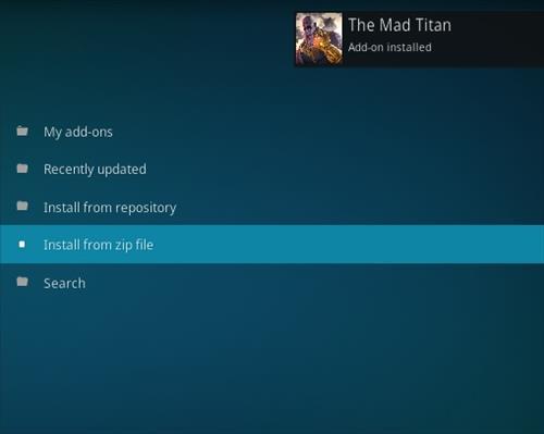 How To Install Mad Titian Kodi Addon Step 13
