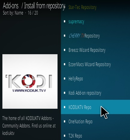 How To Install New Genesis Kodi Addon Step 15