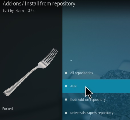 How To Install Not Another Bloody Fork Kodi Addon Step 15