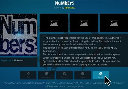 How To Install Numbers Kodi Video Addon Update N Ver Step 18