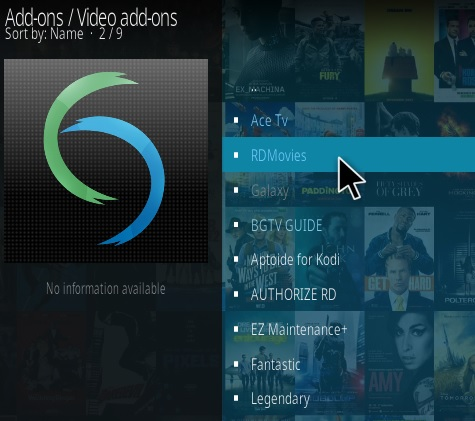 How To Install RD Movies Kodi Addon Step 18