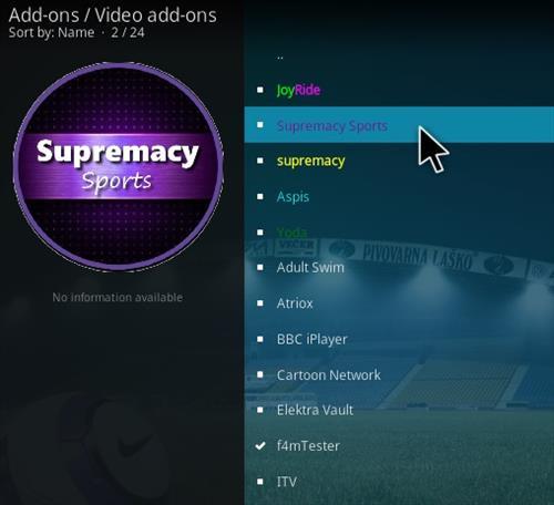 How To Install Supremacy Sports Kodi Addon Updated V Step 17
