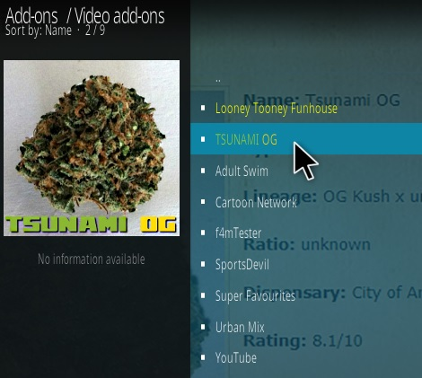 How To Install Tsunami OG Kodi Addon Updated Step 17