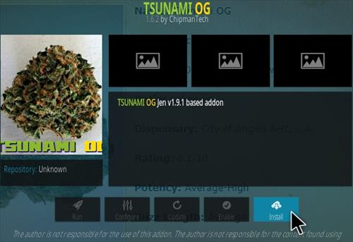 How To Install Tsunami OG Kodi Addon Updated Step 18