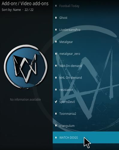 How To Install Watchdogs Kodi Addon Step 17