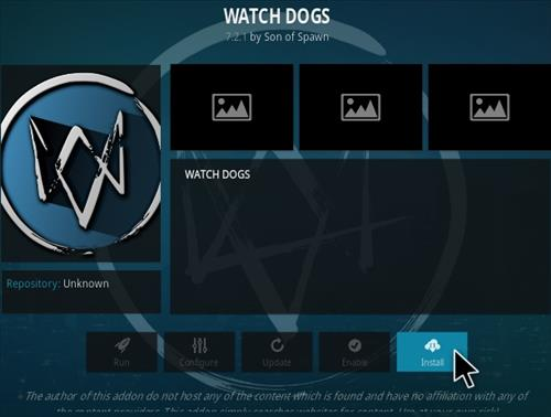 How To Install Watchdogs Kodi Addon Step 18