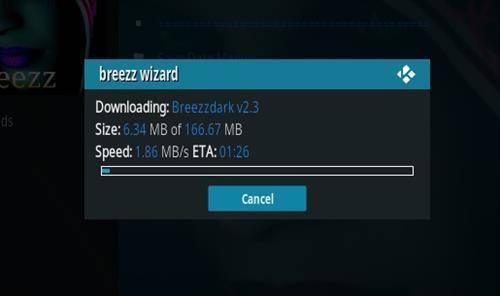 How to Install Breezzdark Kodi Build Step 24