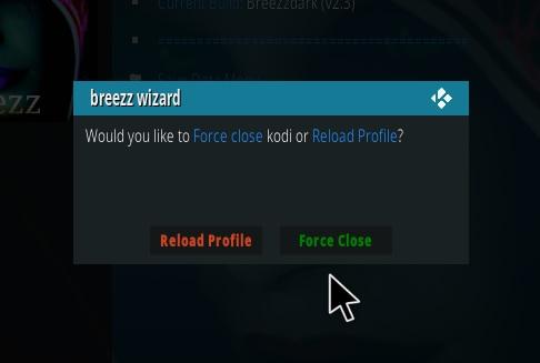 How to Install Breezzdark Kodi Build Step 25