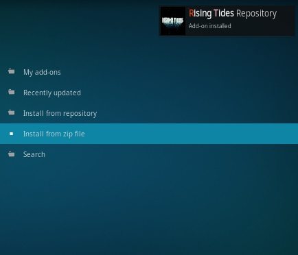 How to Install Rising Tides Kodi Addon Updated Step 13