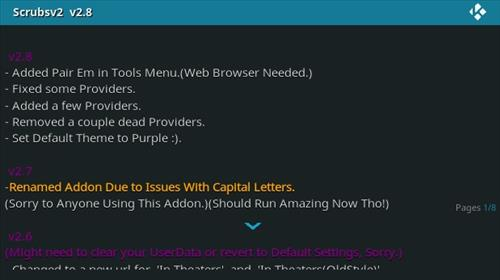 How to Install Scrubs V2 Kodi Addon Updates