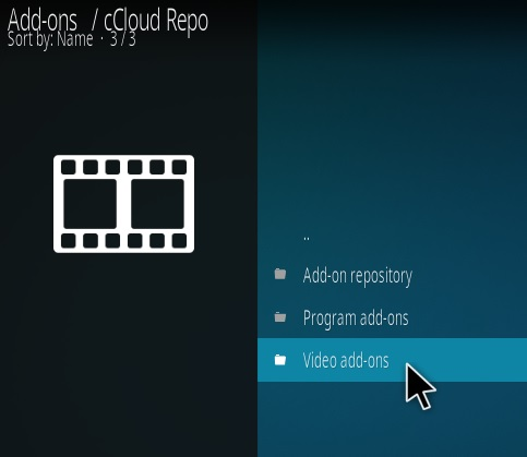 How to Install cCloud Live TV Kodi Addon New Repo Step 17