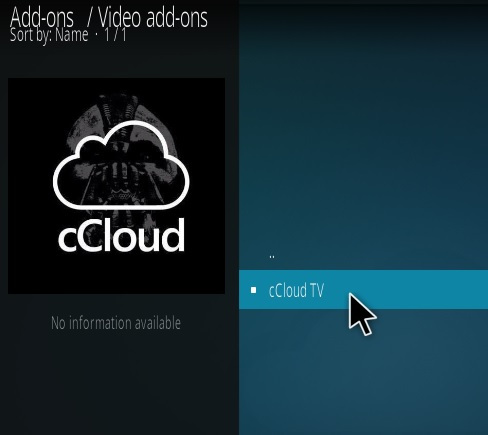 How to Install cCloud Live TV Kodi Addon New Repo Step 18