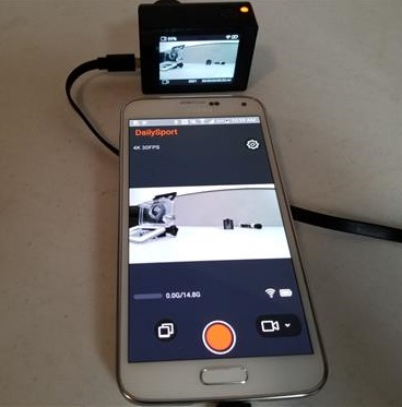 Review TOPLEX Action Camera T101 4K 30FPS WiFi App Setup