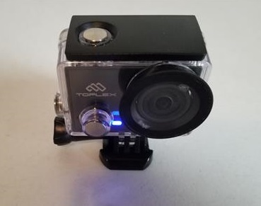 Review TOPLEX Action Camera T101 4K 30FPS WiFi On