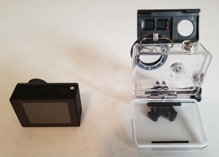 Review TOPLEX Action Camera T101 4K 30FPS WiFi Water proof Case 2
