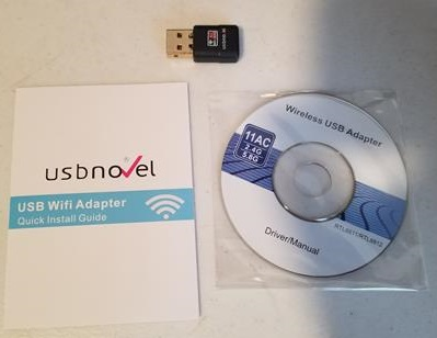 Review: USB Novel 600CU Wireless USB Adapter AC Dual Band