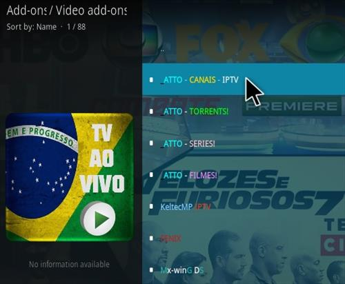 How To Install Atto Canais Kodi IPTV Addon Step 17