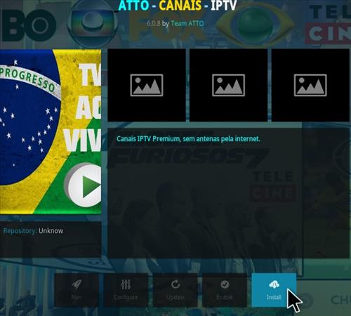 How To Install Atto Canais Kodi IPTV Addon Step 18