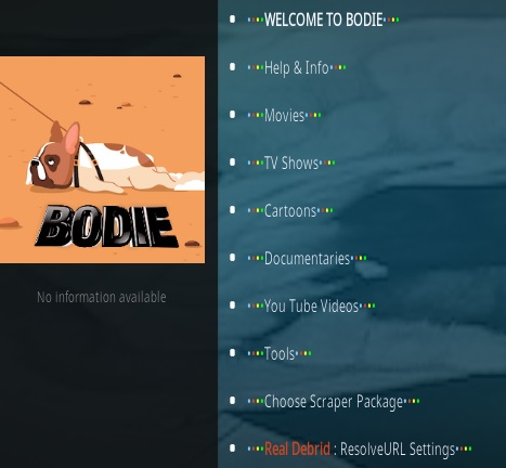 How To Install B Bodie Kodi Addon Overview